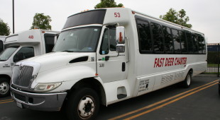 charter bus service